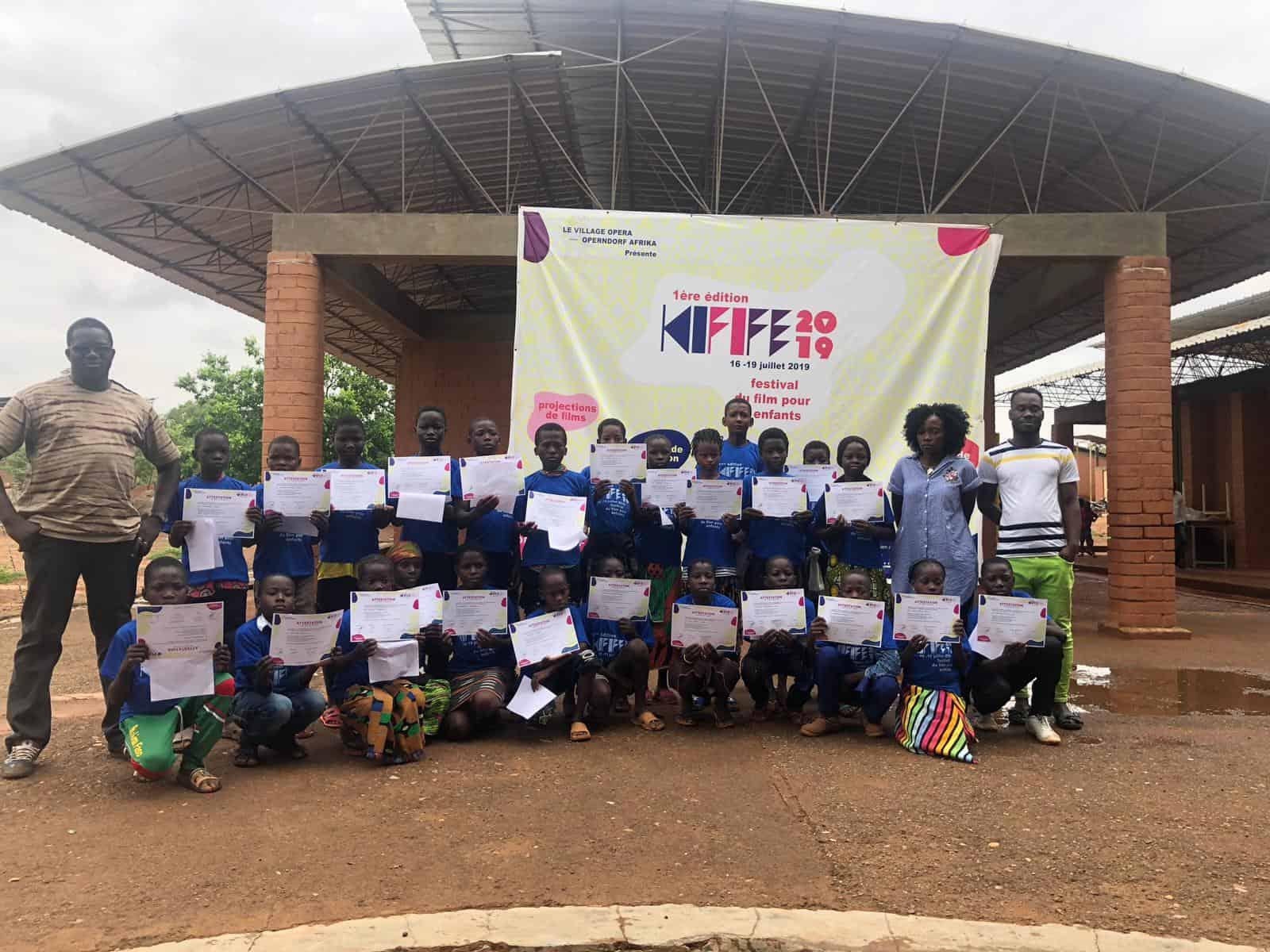 KiFiFE, Kid's Film Festival, Operndorf Afrika, Village Opera, Burkina Faso, Ziniare, Kinder Film Festival, Festival du films pour enfants