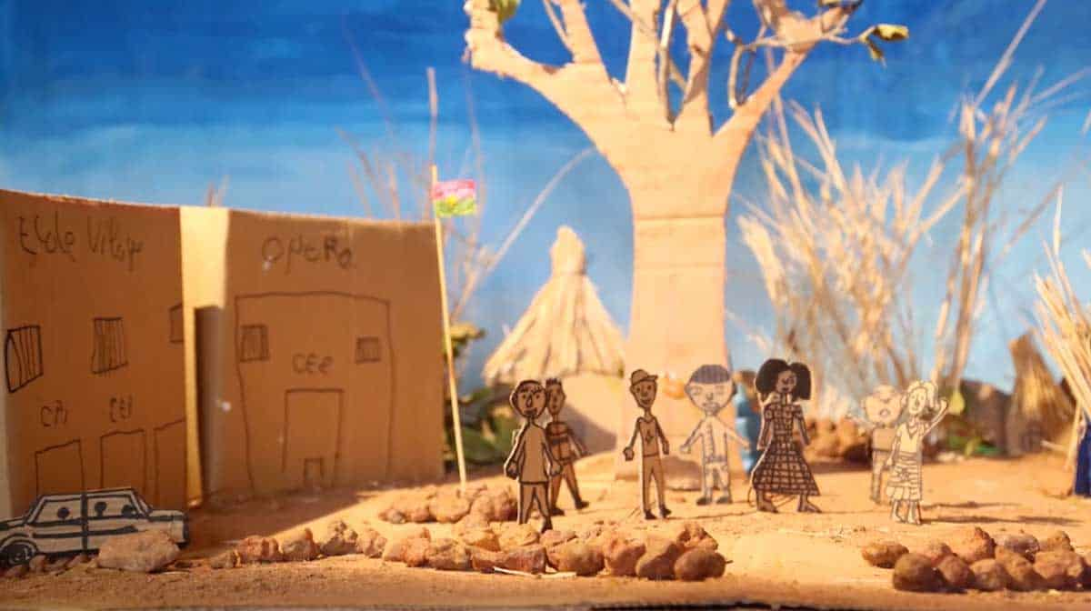 ALIMA - A short stop motion film by our students